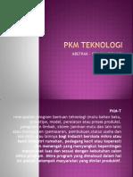 Pkm Teknologi Sriana