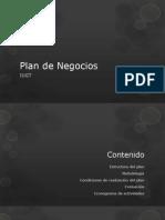 3) PLAN de NEGOCIOS Informacion General(Iugt)