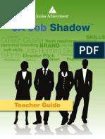 2014 JA Job Shadow Teacher Guide