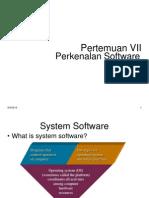7 Pengenalan Software
