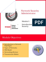 Module 01 - Introduction to Network Security