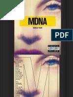 Digital Booklet - MDNA World Tour (L