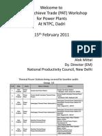 NTPC Dadri 15.02.2011