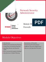 Module 07 - Firewalls
