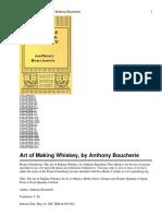 The Art of Making Whiskey Boucherie