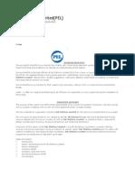 Pak Elektron HR Report