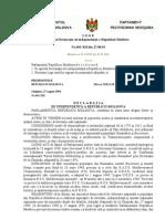 Declaratia de Independenta a Republicii Moldova