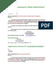 Internship/Job Applications
