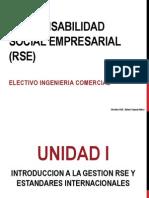 Unidad I Introducción a la Gestión RSE y Estandares Internacionales (1)