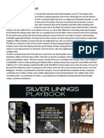 Silver Linings Playbook Film Review