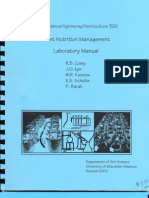 Plant Nutritional Management - Lab Manual - R.B. Corey Et Al - 2002