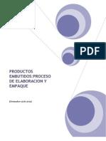 Elaboracion de Productos Embutidos y Su Proceso de Empaqu1