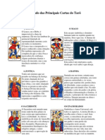 O Significado das Principais Cartas do Tarô
