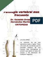 36 - 2R Patología vertebral mas frecuente