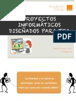 Presentación Proyectos Informáticos diseñados para TEA PDF