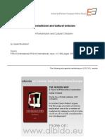 4.1 - Brunkhorst, Hauke - Romanticism and Cultural Criticism (en)