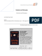 3.99 - Pauer-Sruder, Herlinde - Feminism and Philosophy (en)