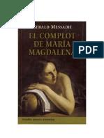 Messadié, Gerald - El Complot de María Magdalena [pdf]
