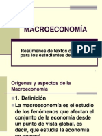 La Macroeconomia 2013