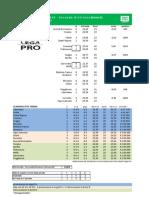 Calcolo età media 1° giornata + probabili verdetti Lega Pro 2013-2014 - SECONDA DIVISIONE GIRONE B