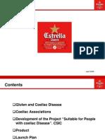 Estrella Damm Beer Suitable for Coeliacs - English