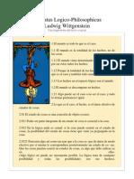 Tractatus Logico Wittgenstein