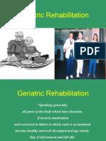 Aging Rehabilitation