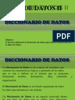 Diccionario Datos II