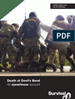 Devils Bend Report