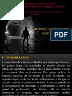 Minas de Ancash, La Libertad y Lambayeque
