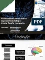 110829803 Rehabilitacion Afasias Alexia Agrafia Acalculia