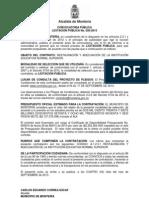 Convocatoria LP 020 2013