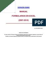 Formularios Excel 2010