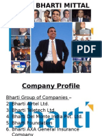 BHARTI AIRTEL (Organisational Development Project @ IIPM)