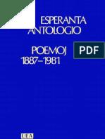 Esperanta Antologio, Poemoj 1887-1981
