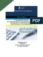 Reportes Financieros Alto Nivel