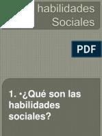 Las Habilidades Sociales Actividades