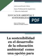 Educacion Ambiental y Sostenibilidad