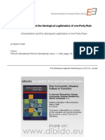 1.9 - Krizan, Mojmir - Essentialism and the Ideological Legitimation of One-Party Rule (en)