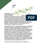 VITAMINA B-17(Vitamina Natural Para CANCER)