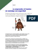 CAMINO DE SANTIAGO-GUÍA Y RECOMENDACIONES