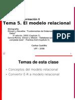 Basesdatos Teo5 Modelo Relacional