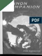 Shadowrun 3E - Cannon Companion