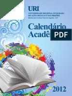 Calendario Academico URI 2012