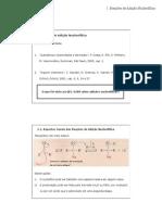 Reação Nucleofílica a Carbonila