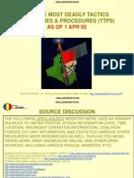 (U FOUO) AIF Top Five Most Deadly TTPs 1 Apr 05 1