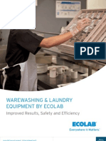 Eco Lab Warewashing Laundry Equipment Catalog