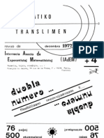 Matematiko Translimen - Duobla Numero 3 Kaj 4