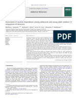 Assessment of Nicotine Dependence Among Adolescent and Young Adult Smokers