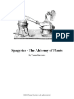Spagyrics - The Alchemy of Plants